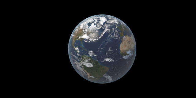 A view od Earth from space